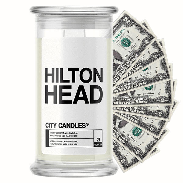 Hilton Head City Cash Candle - BathBombs.Com