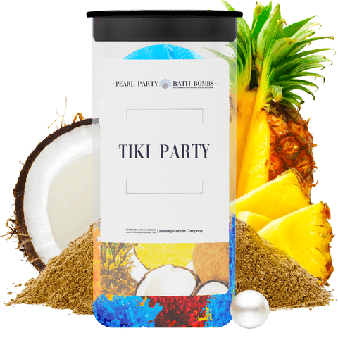 Tiki Party Pearl Party Bath Bombs Twin Pack - BathBombs.Com