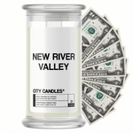 New River Valley City Cash Candle