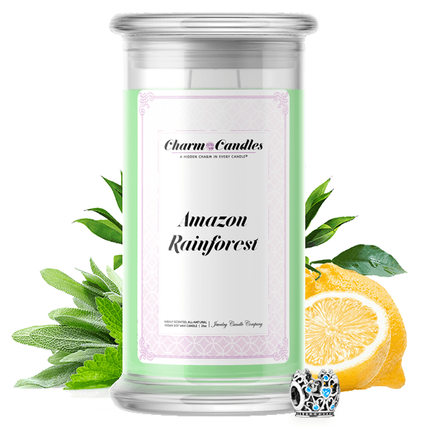 Amazon Rainforest Charm Candle - BathBombs.Com