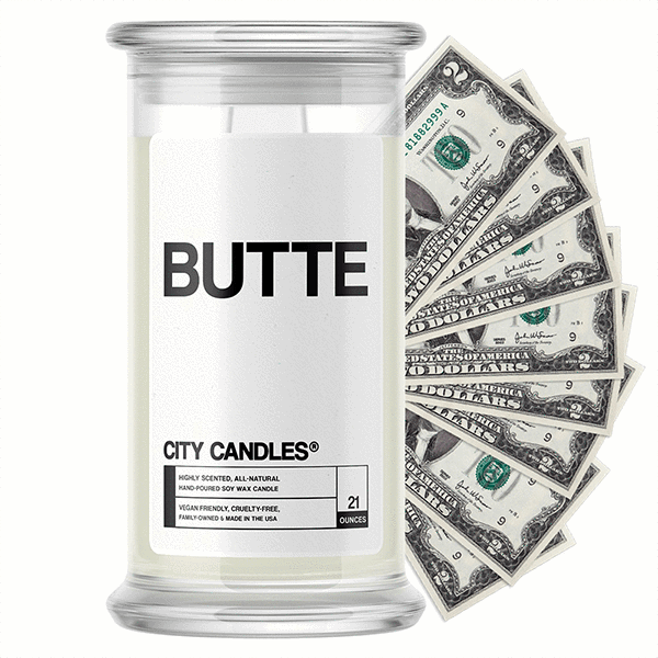 Butte City Cash Candle - BathBombs.Com