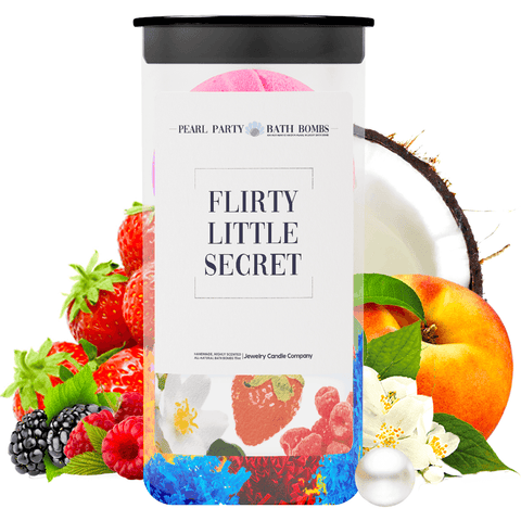 Flirty Little Secret Pearl Party Bath Bombs Twin Pack - BathBombs.Com