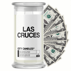 Las Cruces City Cash Candle - BathBombs.Com