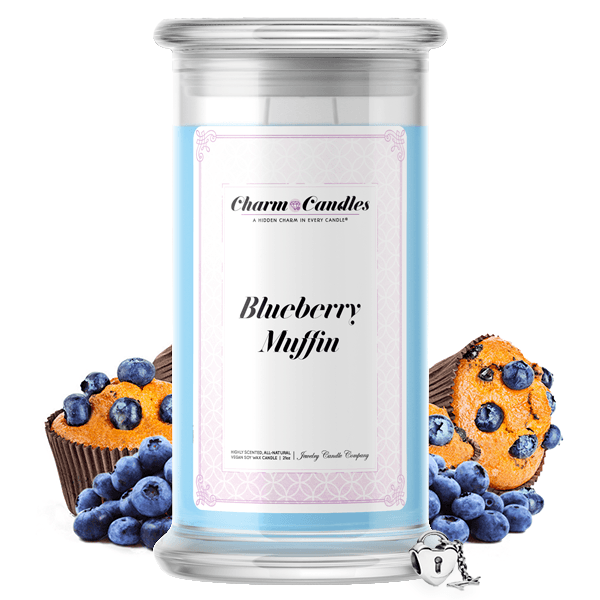 Blueberry Muffin Charm Candle - BathBombs.Com