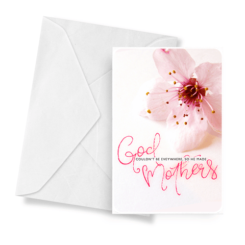 God Couldn't Be Everywhere So He Made Mothers | Mother's Day Jewelry Greeting Cards®-Jewelry Greeting Cards-The Official Website of Jewelry Candles - Find Jewelry In Candles!