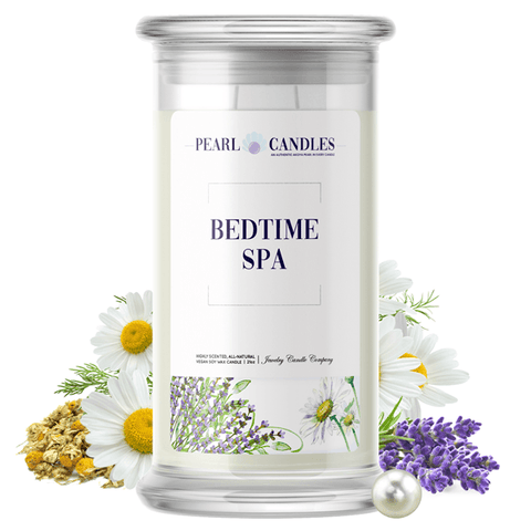 Bedtime Spa Pearl Candle - BathBombs.Com