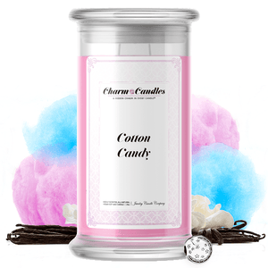 Carnival Cotton Candy Charm Candle - BathBombs.Com