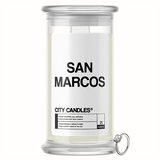 San Marcos City Jewelry Candle - BathBombs.Com
