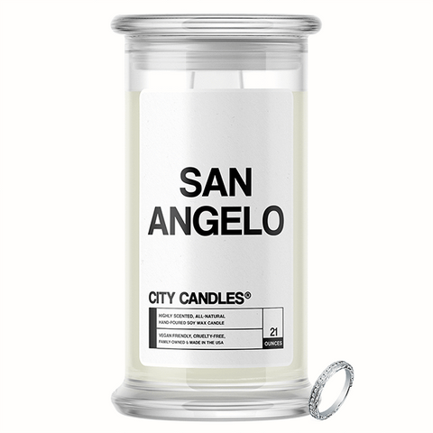 San Angelo City Jewelry Candle