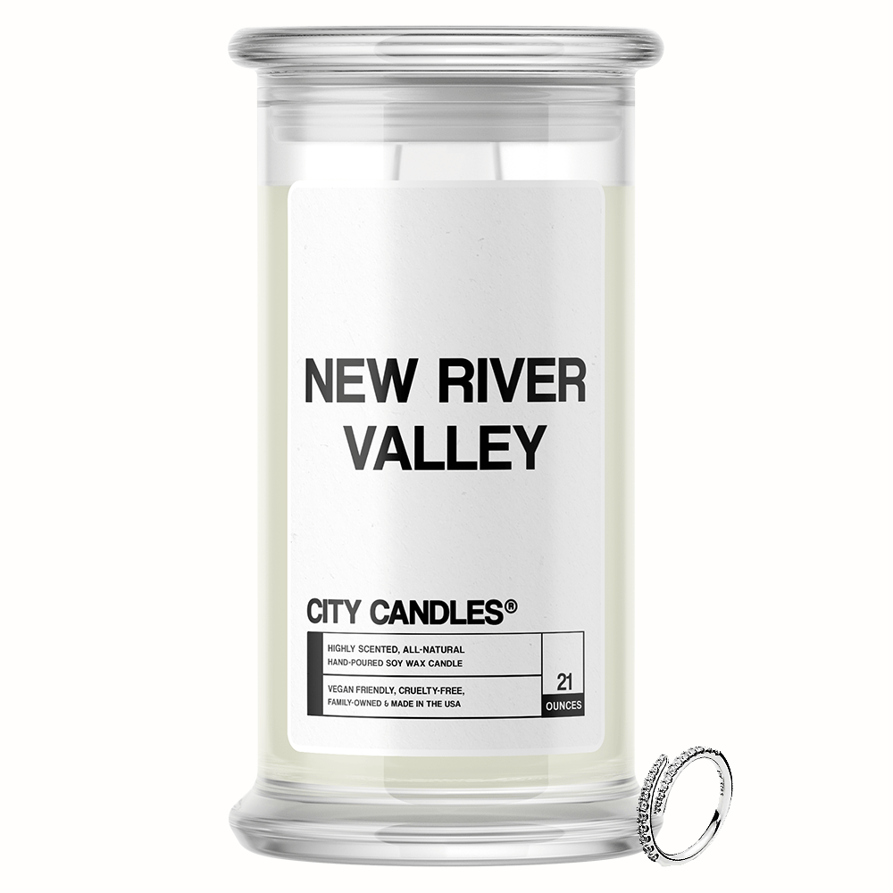 New River Valley City Jewelry Candle - BathBombs.Com