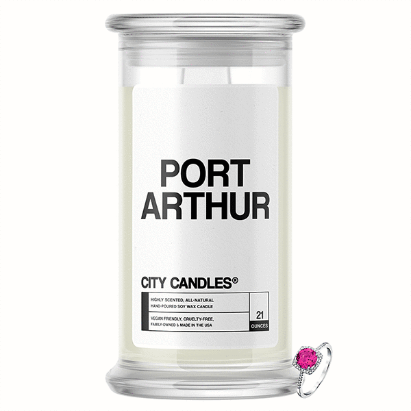 Port Arthur City Jewelry Candle - BathBombs.Com