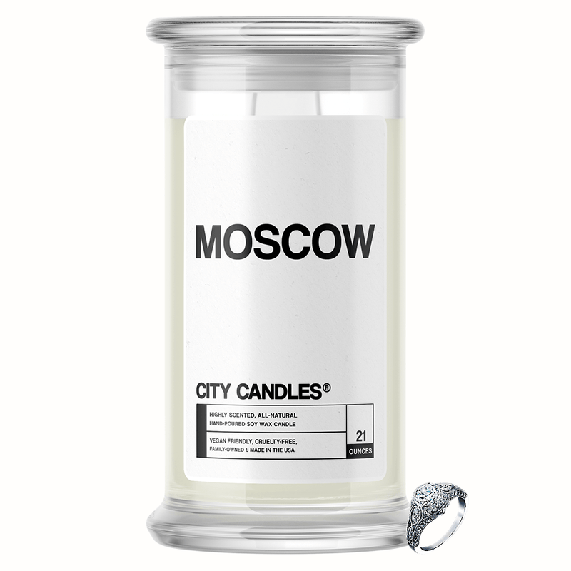 Moscow City Jewelry Candle - BathBombs.Com