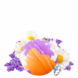Lavender & Chamomile Ring Bath Bomb - BathBombs.Com