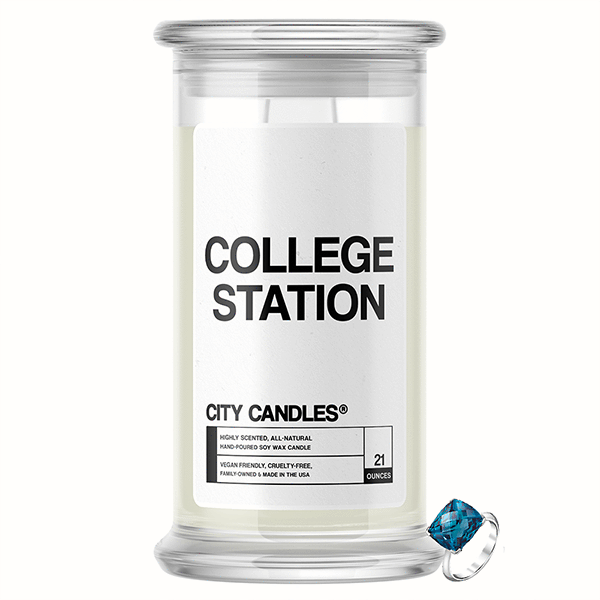 College Station City Jewelry Candle - BathBombs.Com