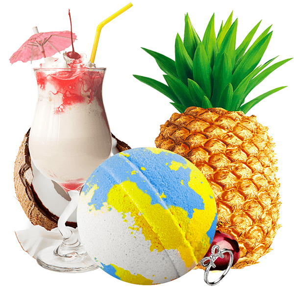 If You Like Piña Coladas! Jewelry Bath Bomb - BathBombs.Com