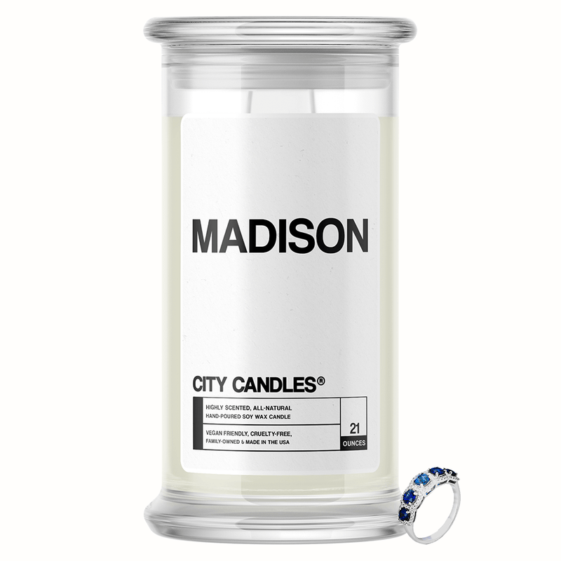 Madison City Jewelry Candle - BathBombs.Com