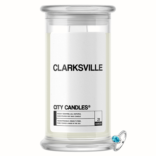 Clarksville City Jewelry Candle - BathBombs.Com