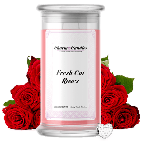 Fresh Cut Roses Charm Candle - BathBombs.Com