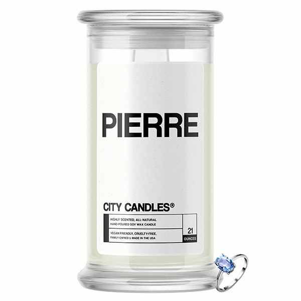 Pierre City Jewelry Candle - BathBombs.Com