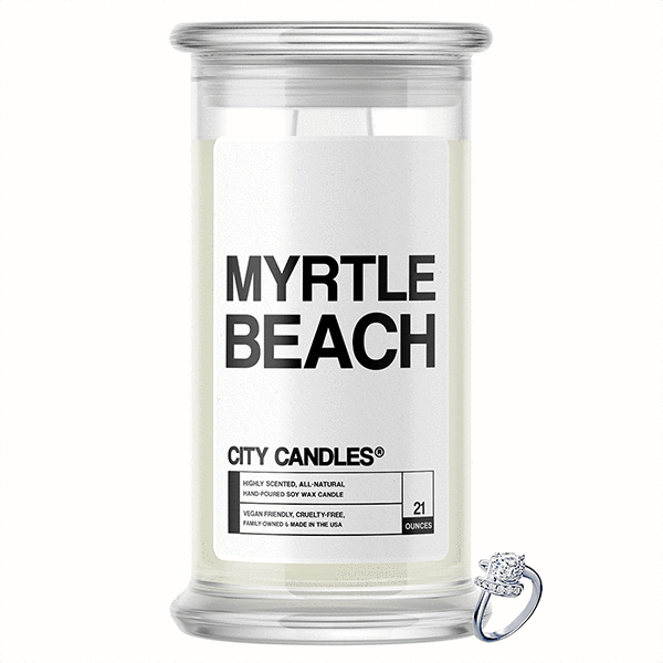 Myrtle Beach City Jewelry Candle - BathBombs.Com