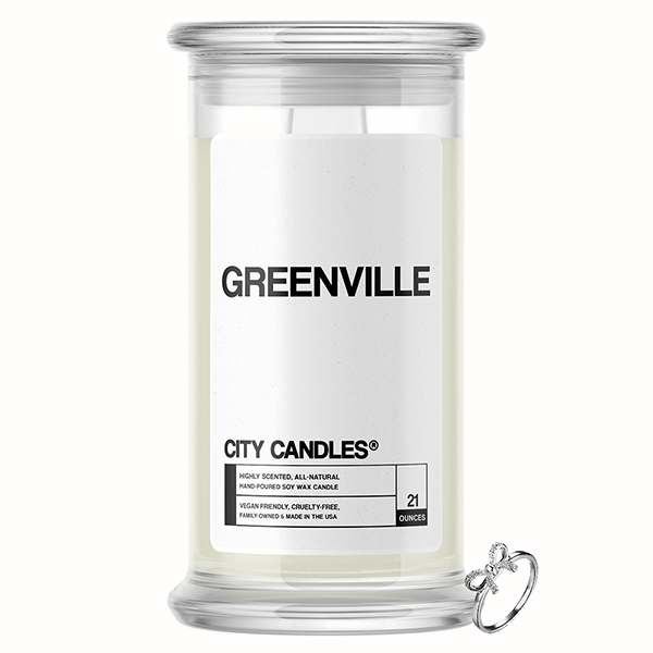 Greenville City Jewelry Candle - BathBombs.Com