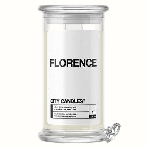 Florence City Jewelry Candle - BathBombs.Com