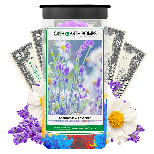 Lavender & Chamomile Cash Bath Bombs Twin Pack - BathBombs.Com