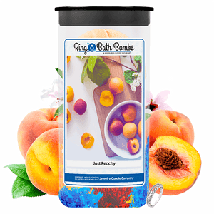 Just Peachy Ring Bath Bombs Twin Pack - BathBombs.Com