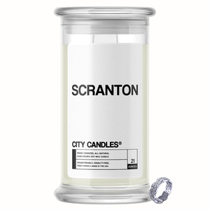 Scranton City Jewelry Candle - BathBombs.Com