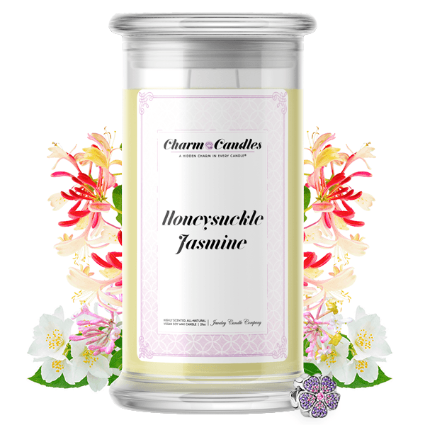 Honeysuckle Jasmine Charm Candle - BathBombs.Com