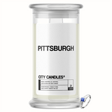 Pittsburgh City Jewelry Candle - BathBombs.Com