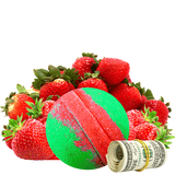 Strawberry Fields Cash Bath Bomb - BathBombs.Com