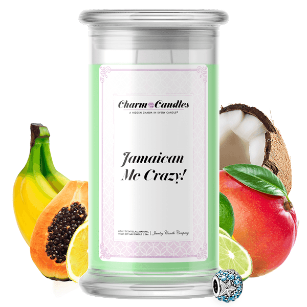 Jamaican Me Crazy! Charm Candle - BathBombs.Com