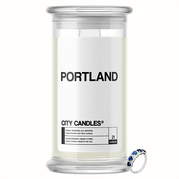 Portland City Jewelry Candle - BathBombs.Com