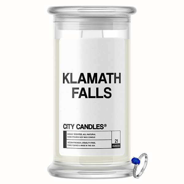 Klamath Falls City Jewelry Candle - BathBombs.Com