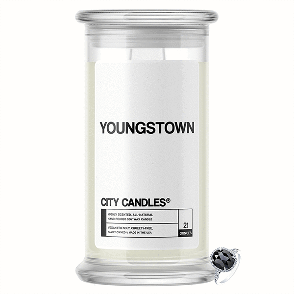Youngstown City Jewelry Candle - BathBombs.Com