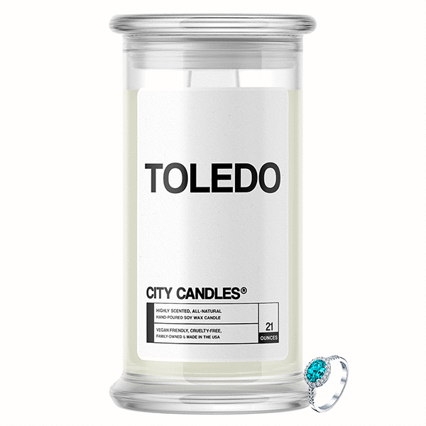 Toledo City Jewelry Candle - BathBombs.Com