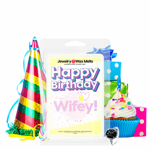 Happy Birthday Wifey! Happy Birthday Jewelry Wax Melt - BathBombs.Com