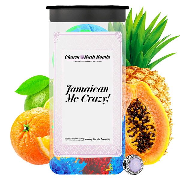 Jamaican Me Crazy! Charm Bath Bombs Twin Pack - BathBombs.Com