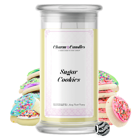 Sugar Cookies | Charm Candle®-Charm Candles®-The Official Website of Jewelry Candles - Find Jewelry In Candles!