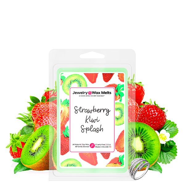 Strawberry Kiwi Splash Jewelry Wax Melt - BathBombs.Com