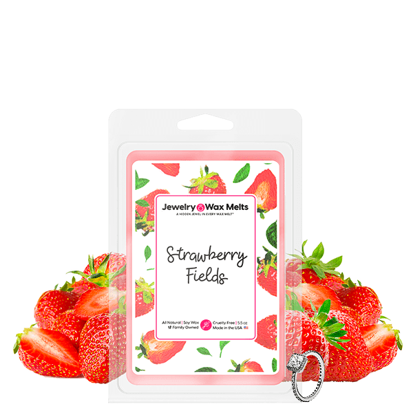 Strawberry Fields Jewelry Wax Melt - BathBombs.Com