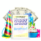 Happy Birthday Brother! Happy Birthday Cash Wax Melt - BathBombs.Com