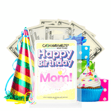 Happy Birthday Mom! Happy Birthday Cash Wax Melt - BathBombs.Com