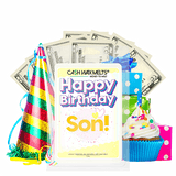 Happy Birthday Son! Happy Birthday Cash Wax Melt - BathBombs.Com
