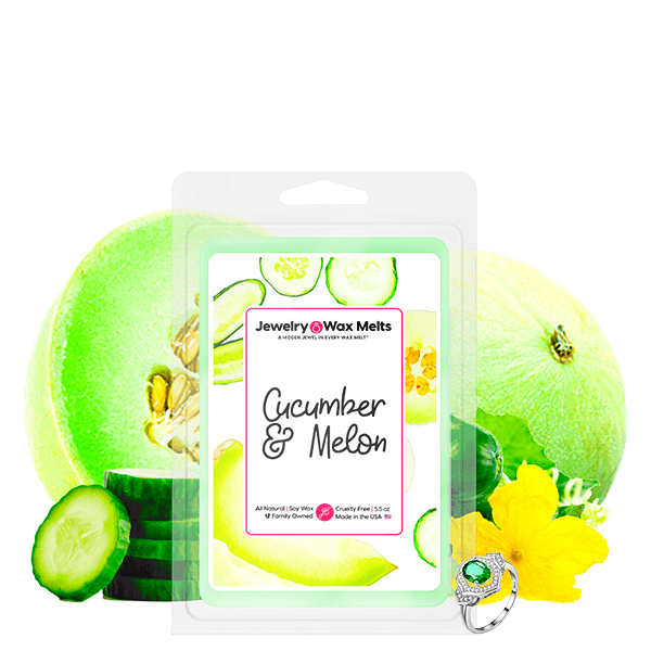 Cucumber & Melon Jewelry Wax Melt - BathBombs.Com