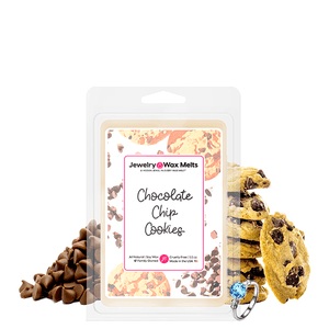 Chocolate Chip Cookies Jewelry Wax Melt - BathBombs.Com