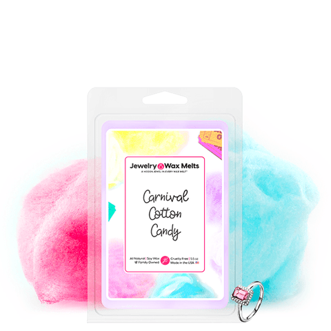 Carnival Cotton Candy Jewelry Wax Melt - BathBombs.Com