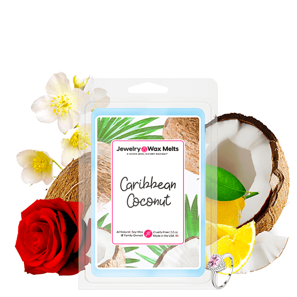 Caribbean Coconut Jewelry Wax Melt - BathBombs.Com