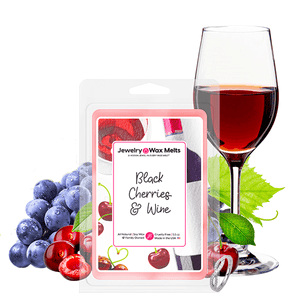 Black Cherries & Wine Jewelry Wax Melt - BathBombs.Com